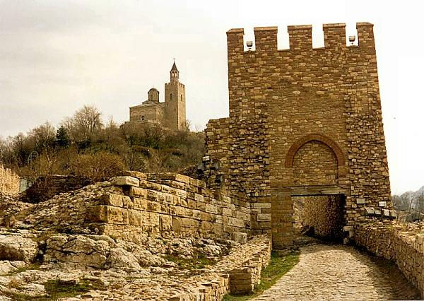 Veliko Tarnovo - capital of the Second Bulgarian Empire (1185 to 1393)